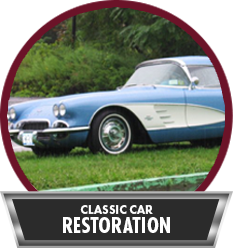 Classic car restoration in New Windsor